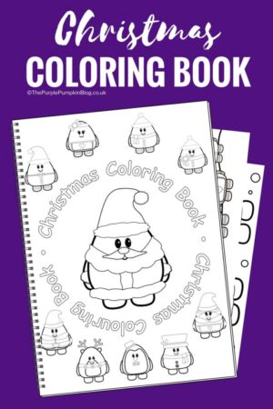 16-Page Christmas Coloring Book (Print-at-Home)
