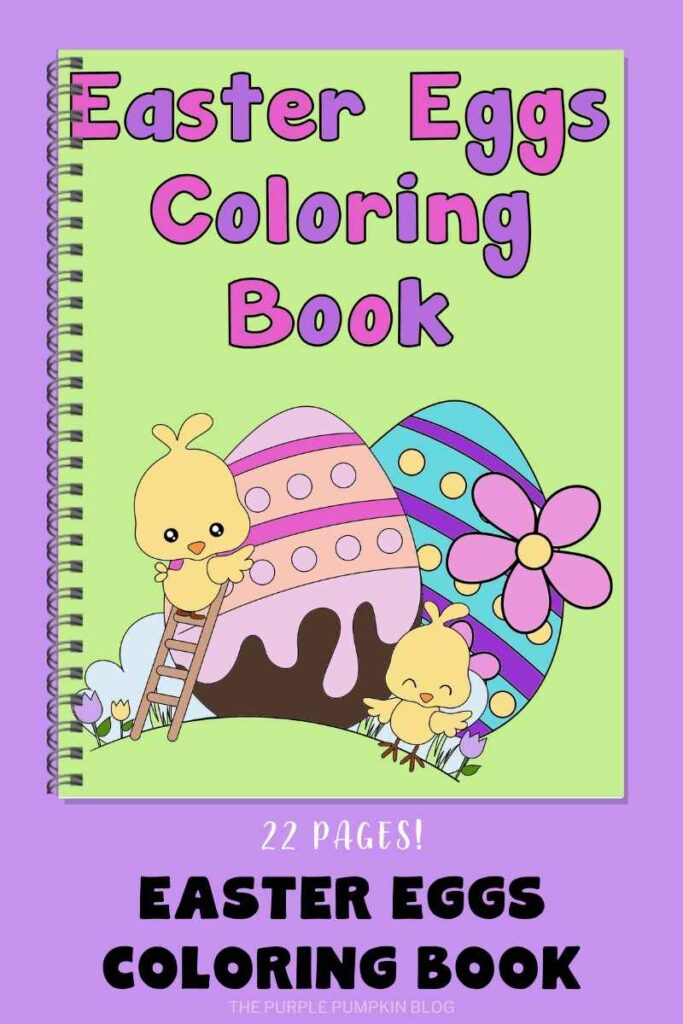 Easter Eggs Coloring Book