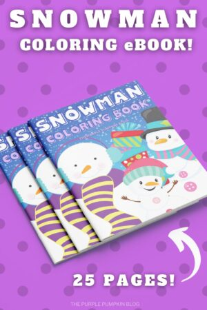 Snowman Coloring eBook