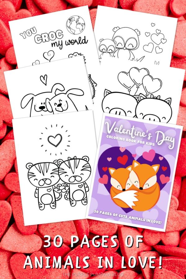 30 Pages of Animals in Love!