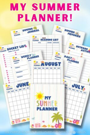 22-Page Printable Summer Planner