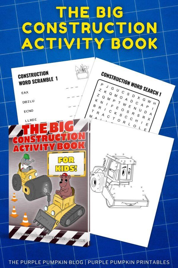 Printable Construction Activity Book